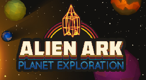 the logo of Alien Ark